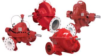 Single Stage Split Case Pumps 8100 Series A C Fire Pump