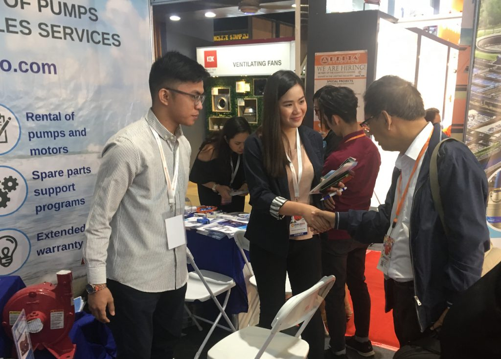 Gotesco booth at Worldbex 2018